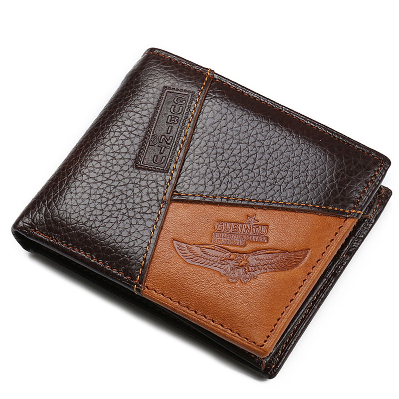 Genuine Leather Men Wallet Male Purse With Zipper Coin Pocket Wallets carteira masculina Money Bags  266 simline vintage genuine cow leather men men s short wallet wallets purse card holder with zipper bag coin pocket male carteira