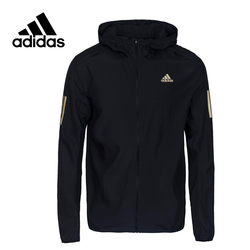 Adidas Original New Arrival Official RS HD WND JKT M Men's Jacket Hooded Sportswear BQ3503 adidas new arrival official ess 3s crew men s jacket breathable pullover sportswear bq9645