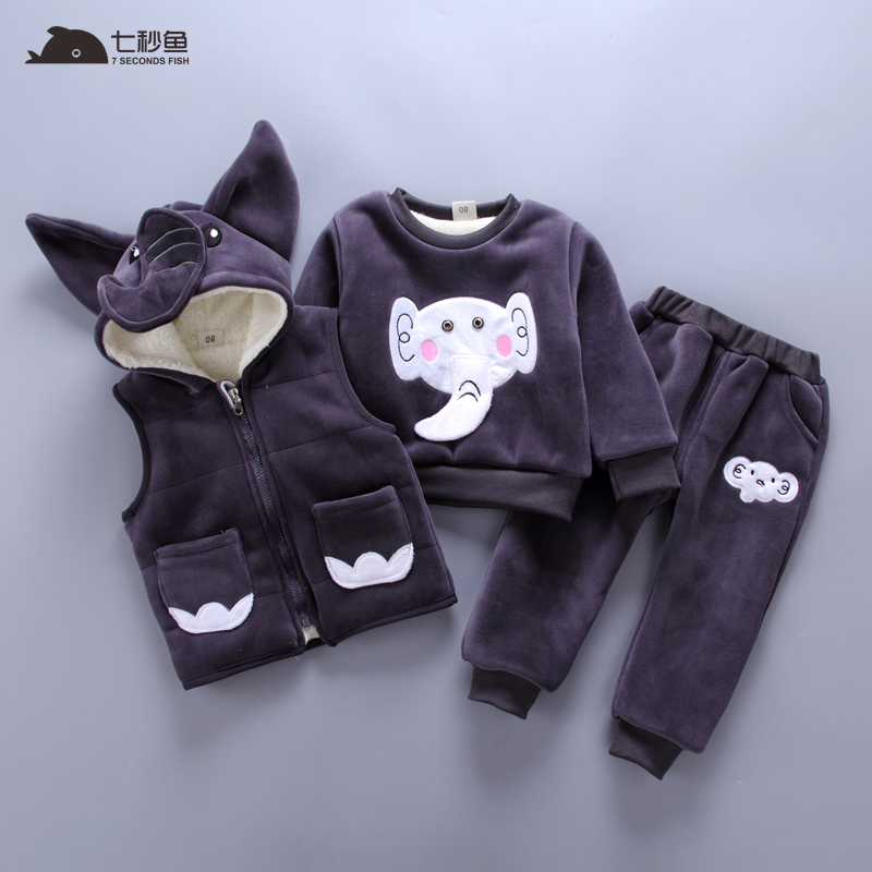 2-7 Years Baby Boys Girls Coats 2018 Winter Boys Down Jackets Casual Snow Wear Girls Clothing Sets 3Pcs Outerwear & Coats 6 24m snow wear baby boys girls rompers down coats winter 2017 baby clothing cotton girls coats fashion baby outerwear