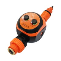 2 Dials knob Water Timer Home Garden Irrigation Water Controller Agriculture tools Lawn Watering System Timer 1 Pc
