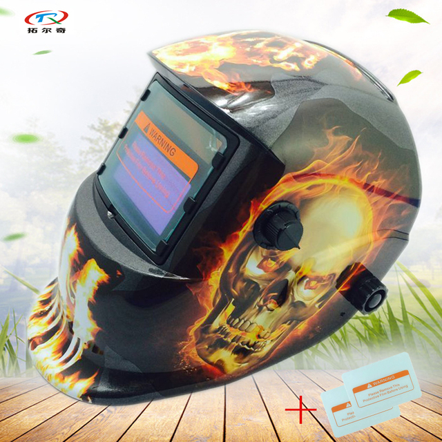 Custom Welding Helmets >> Us 23 46 Welding Mask Electronic Custom Auto Darkening Welding Helmet Welding Tool Mig Tig Lithium Battery And Solar Full Hd14 2200de W In Welding