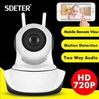 SDETER 1080P Wireless Home Security IP Camera Network CCTV Camera Wifi Video Surveillance 720P Night Vision
