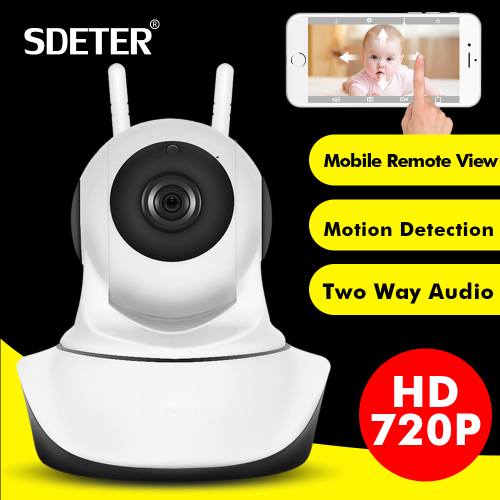 wifi network wireless ip camera remote home monitoring p2p video security surveillance in box SDETER 1080P Wireless Home Security IP Camera Network CCTV Camera Wifi Video Surveillance 720P Night Vision Two Way Audio Camera