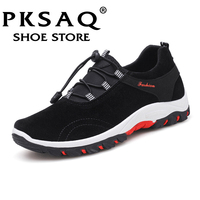 PKSAQ 2018 New Men's Shoes Plus Size 39 47 Men's Flats,High Quality Casual Men Shoes Big Size Handmade Moccasins Shoes for Male