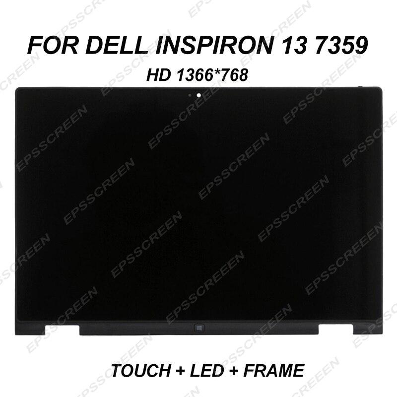 Замена дисплея для Dell Inspiron 13 7359 сенсорный HD светодиодный ЖК экран дигитайзер панель в сборе HD 1366*768 30PIN одно отверстие для камеры