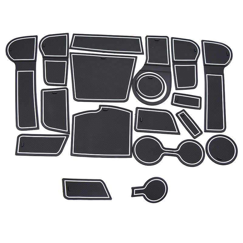 Vtear עבור קאיה ריו 4 X קו שער חריץ מחצלת אנטי להחליק אנטי להחליק דלת חריץ כרית פנים קישוט רכב סטיילינג acccessories 2017