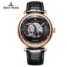Reef Tiger/RT Top Brand Mens Luxury Watch Waterproof Automatic Watch