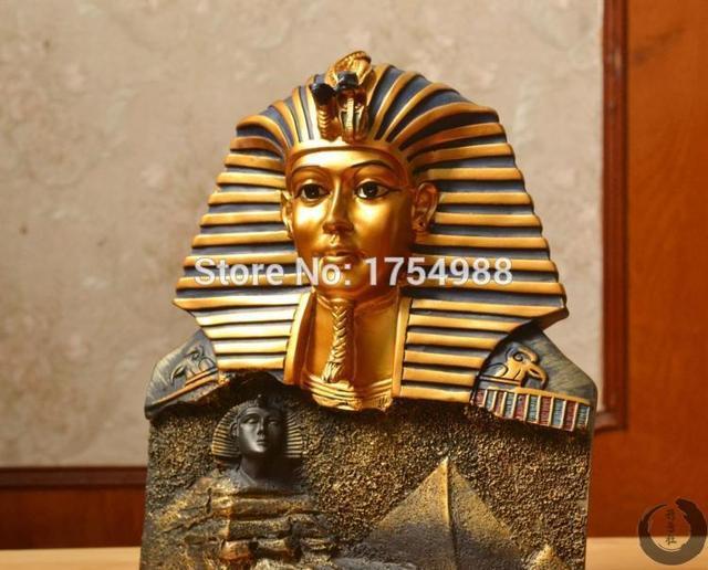 Egypte thema kamer escape game draaien de farao standbeelden naar