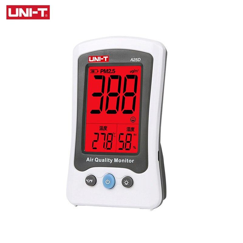 UNI-T A25D PM2.5 Testers Air Quality Measurement Meters Detector Auto Range Overload Indication Gas Temperatur саянов и фотоальбом донские армяне 235 лет с россией