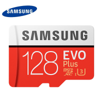 Samsung Memory Card 128GB EVO PLUS Micro Sd Card Class10 UHS 1 Speed Max 100M S