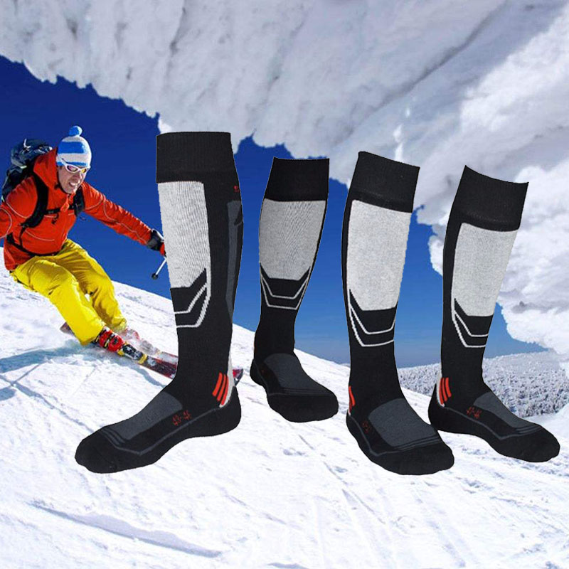 Men Winter Warm Thermal Ski Socks Thick Cotton Sports Snowboard Cycling Skiing Soccer Socks Thermsocks Leg Warmers Sockings 30