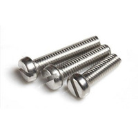 100pcs/lot M2.5  2.5*8mm Half  Round Pan head slotted screw stainless steel 304