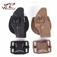 CQC Glock Glock 17/22/31 Funda Miliatry Caza Accesorios Táctico Cinturón Pistola Pistolera Right mano al por mayor