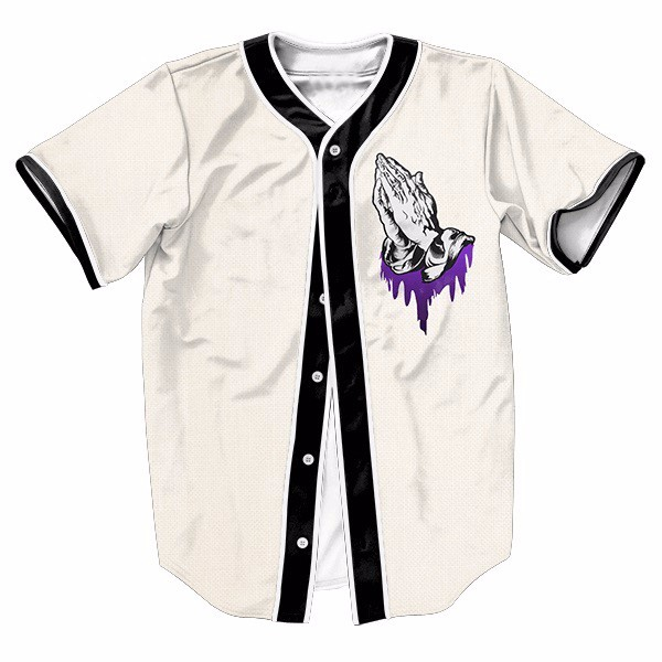 Clap Hands Amazing Cool Baseball Jerseys New Hip Hop Streetwear US Size Buttons Homme 3D Shirt Brand Clothing