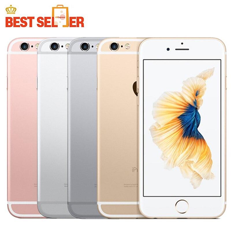 Unlocked Original Apple iPhone 6s 16GB/64GB/128GB ROM Smartphones 4.7 inch Screen 12MP Camera GPS IOS 4G LTE Mobile Phones(China)