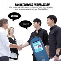 Интеллектуальный синхронного перевода WI FI голос переводчик 28 языков многоязычные путешествия обучения переводу переводчика