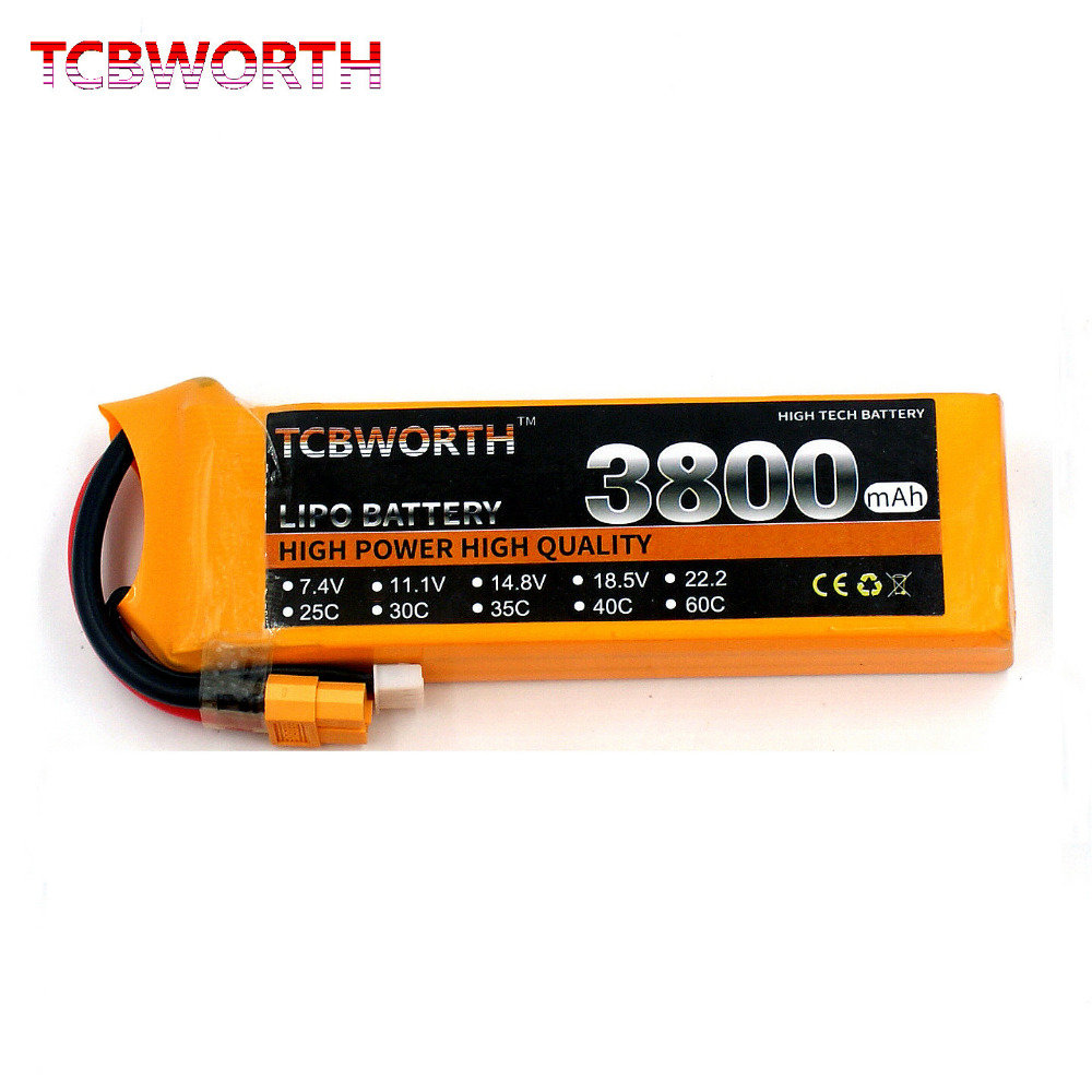 RC Lipo battery 3S 11.1V 3800mAh 35C RC LiPo battery For helicopter car boat quadcopter Li-Polymer batteria AKKU wild scorpion rc 18 5v 5500mah 35c li polymer lipo battery helicopter free shipping