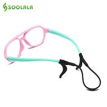 SOOLALA 3 sets Flexible Children Antiskid Glasses Rope with Anti Slip Ear Hooks Holder Silicone Hook Sports