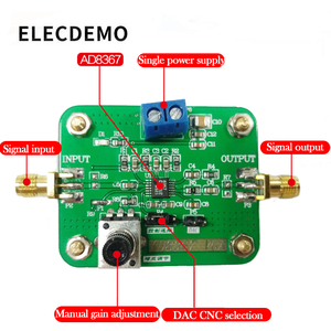 Image 3 - AD8367 Module Authentic Guarantee 500MHz 45dB Linear Variable Gain Amplifier function demo board