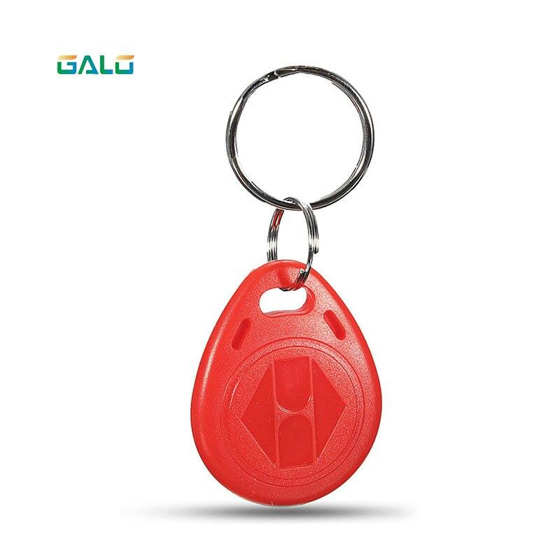 Отель ключ карта rfid-id карты для контроля доступа управлением-красный теги и красные ключи