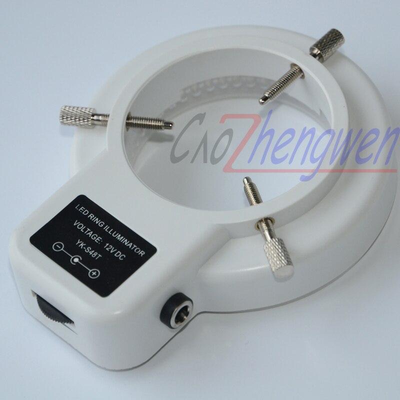 FYSCOPE 144 pcs puede controlar luz LED microscopio de anillo blanco - Instrumentos de medición - foto 2