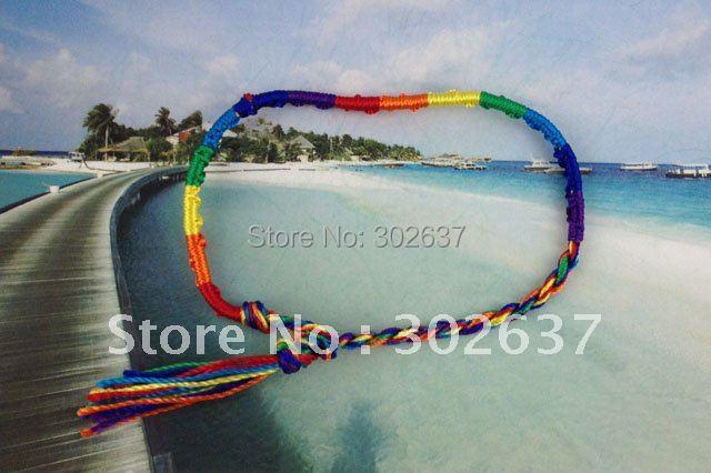 12PCS Rainbow Cord Friendship bracelets / Angklets #20871