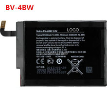New 100% Original Rechargeable BV4BW BV 4BW Battery For Nokia Lumia 1520 MARS Phablet RM-937 Free Shipping + Tracking Code