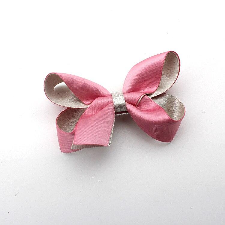 Korea Princess Hair Clips Girls Hair Accessories Butterfly Flower Crown Hair Bows Hair Ornaments Rim Hairpin Kids Gift -5