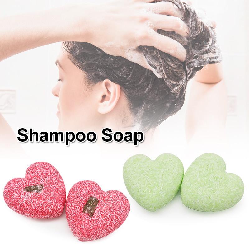 1 Pcs Lavender Ginger Shampoo Soap Nourishing Cleaning Hair Care HB88