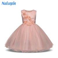 שמלת ילדה קיץ 3-8 שנים תינוקות בנות פרחוניים להתלבש בגדי תינוקות ימי הולדת מסיבת חג מולד חתונת Vestidos 2 צבעים בגדים