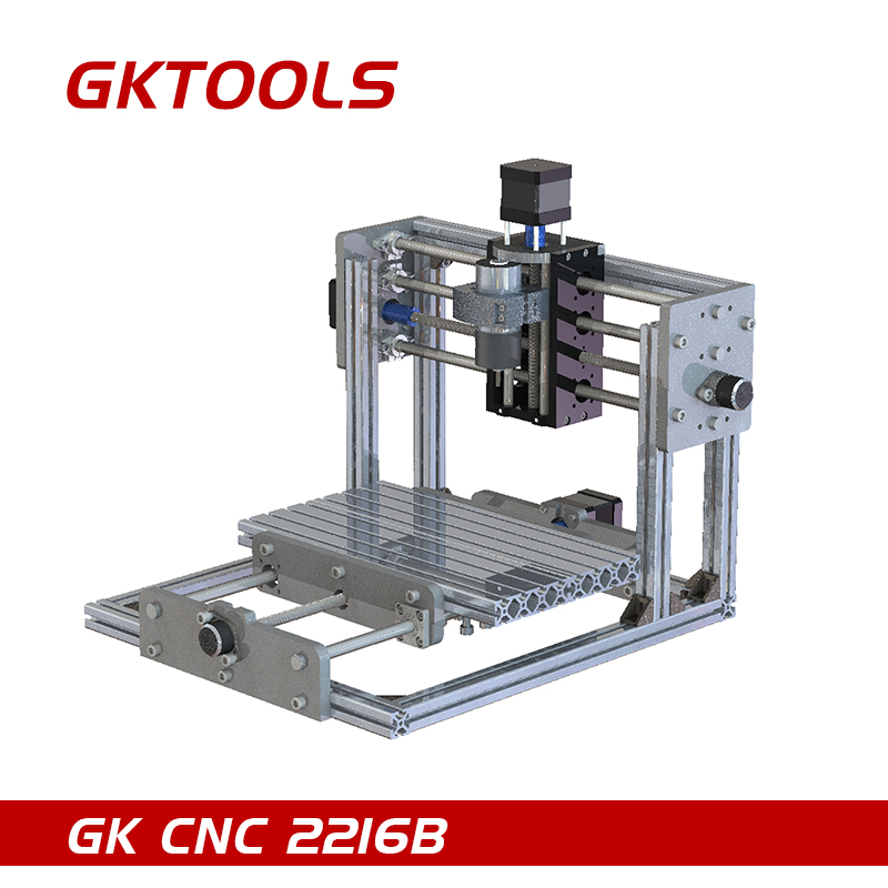 GKTOOLS CNC 2216B 16cmx22cm DIY Desktop CNC Engraving Machine CNC Mini Machine Relief PCB Can Carved Offline Support GRBL relief icona b mater
