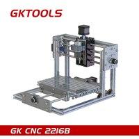 GKTOOLS CNC 2216B 16cmx22cm DIY Desktop CNC Engraving Machine CNC Mini Machine Relief PCB Can Carved