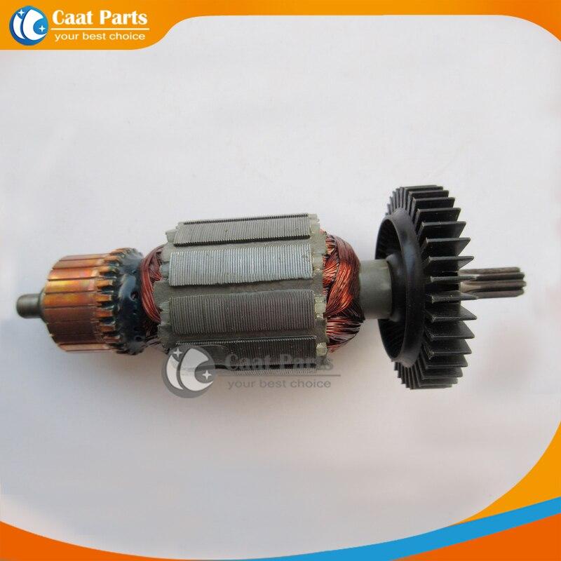 Livraison gratuite! Ac 220 V Drive Shaft électrique clé Rotor d'induit pour Makita 6905 h, De haute qualité