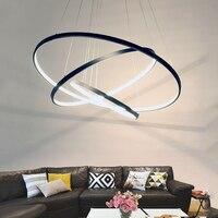 Black white frame pendant lights for modern dining room abajur lamps luster lighting vintage led pendant lamp