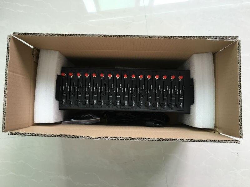 Двухдиапазонный 16 Порты gsm модем бассейн с USB для смс отправки Wavecom Q2303 Модуль GSM900/1800 мГц
