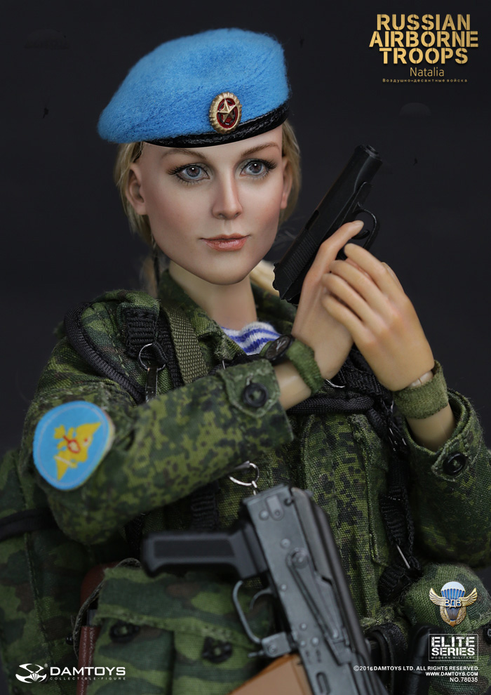 Russian Airborne VDV 1/6 Female Soldier Action Figure Model Set DAM 78035 Natalia airborne pollen allergy