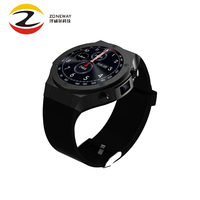 H2 3G Watch GPS Smart Watch With App Download Heart Rate Tracker WIFI 5.0M HD Camera Android 5.1 Smartwatch Pk Kw88 VS Dm98