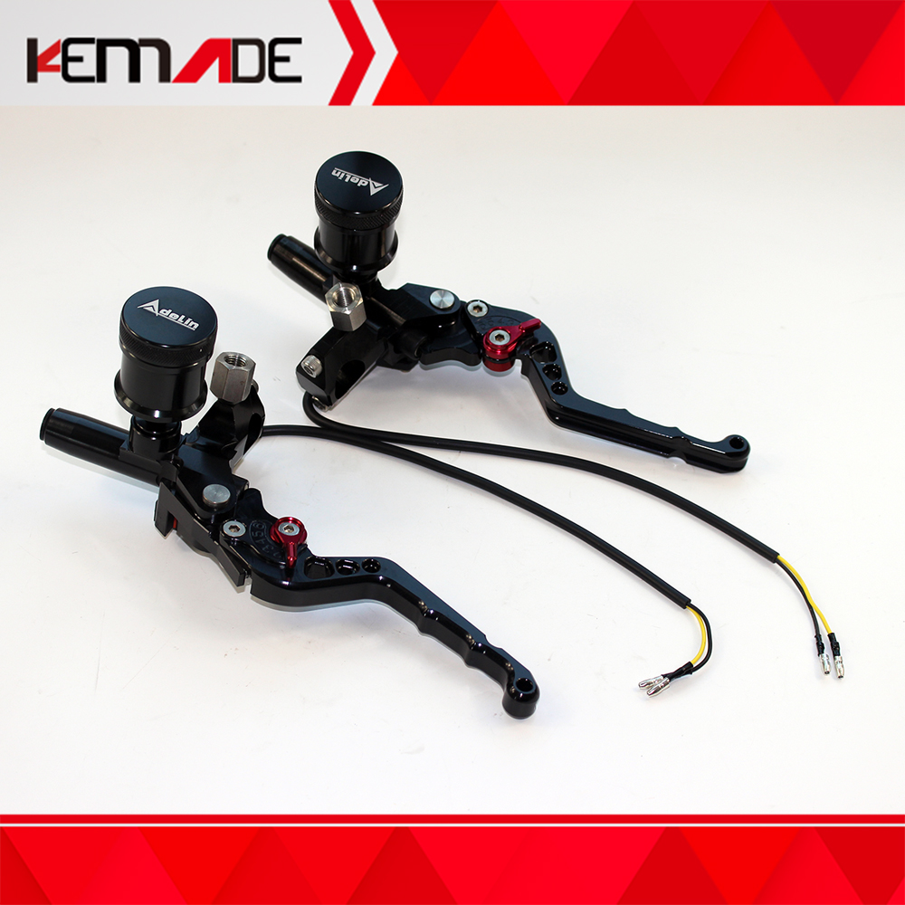 Adelin CNC master cylinder for ruckus zoomer brake lever clutch lever 7 8 22MM for front