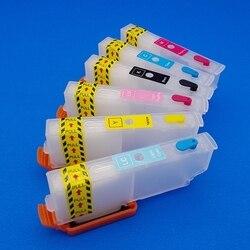 XP-850 wkład tuszu kaseta z tonerem do drukarki wyrażenie zdjęcie XP-750 T2431 T2432 T2433 T2434 T2435 T2436 układu wkład tuszu wkłady
