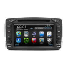 Free Shipping HD 7″ Touch Screen Car DVD Player for Mercedes Benz W203 W208 W209 W210 W463 Vito Viano Autoradio GPS Navigation