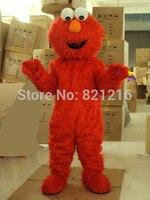 New Sale Professional Sesame Street Elmo Red Monster Mascot Costume
