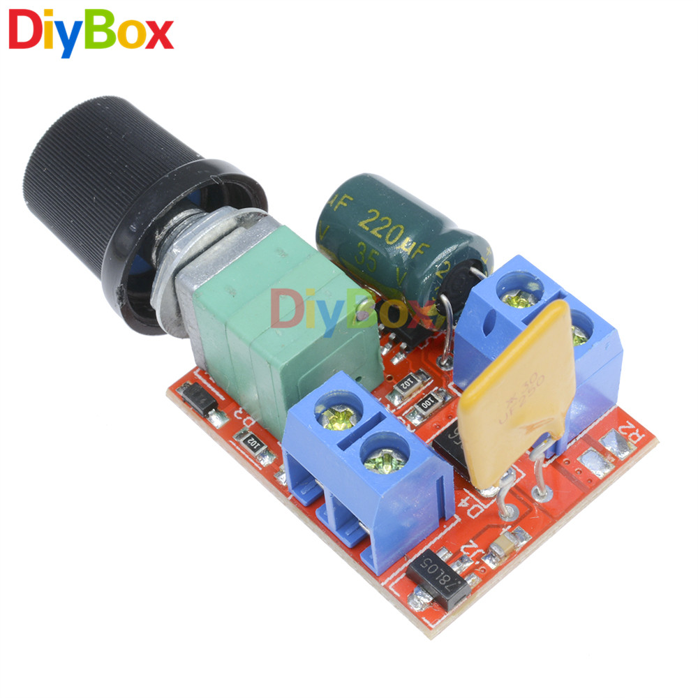 Lm317 Step Down Power Transformer Dc 5v 35v To 125v 30v Diy Kits Ac Mini2440 Supply System Schematic Diagram Mini 5a Motor Pwm Speed Controller 3 Control Switch Led Dimmer