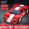 XingBao 03011 919Pcs Genuine Creative MOC Technic Series The Red Phantom Racing Car Set Children Building Blocks Bricks Boy Toy