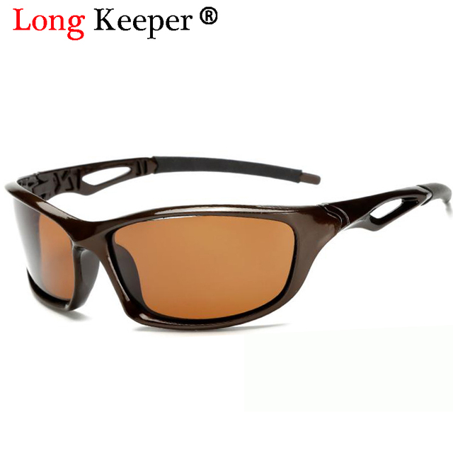 2017 óculos Polarizados Óculos de Visão Noturna Homens Top Qualidade  Masculino Óculos de Sol Óculos de c8de234a21