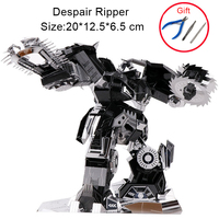 Despair Ripper 3D Metal Puzzles Laser Cut Model Adult Children Educational Toys/brinquedo Educativo Collection Christmas Gifts
