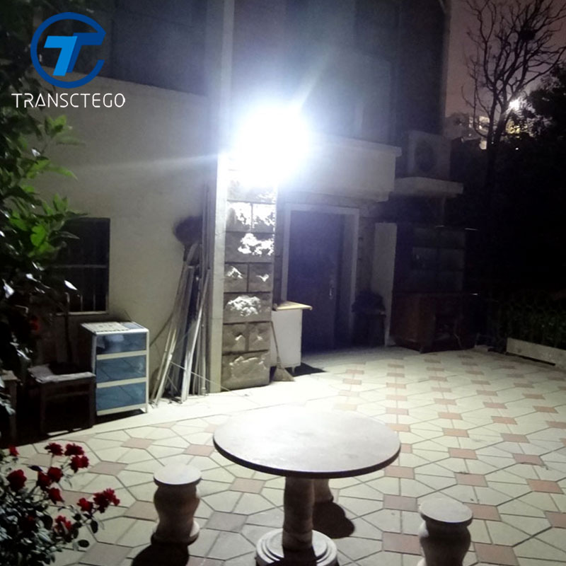 TRANSCTEGO Solar Light 38 LED Utomhus Vattentät Garden Led Solar Powered Lights Batterilampor Motion Sensor Light Vägglampa
