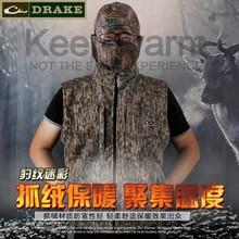 WTM зима новый ветер соединение флис плюс бархат Теплый джунгли бионический камуфляж одежда холодный воин, жилет