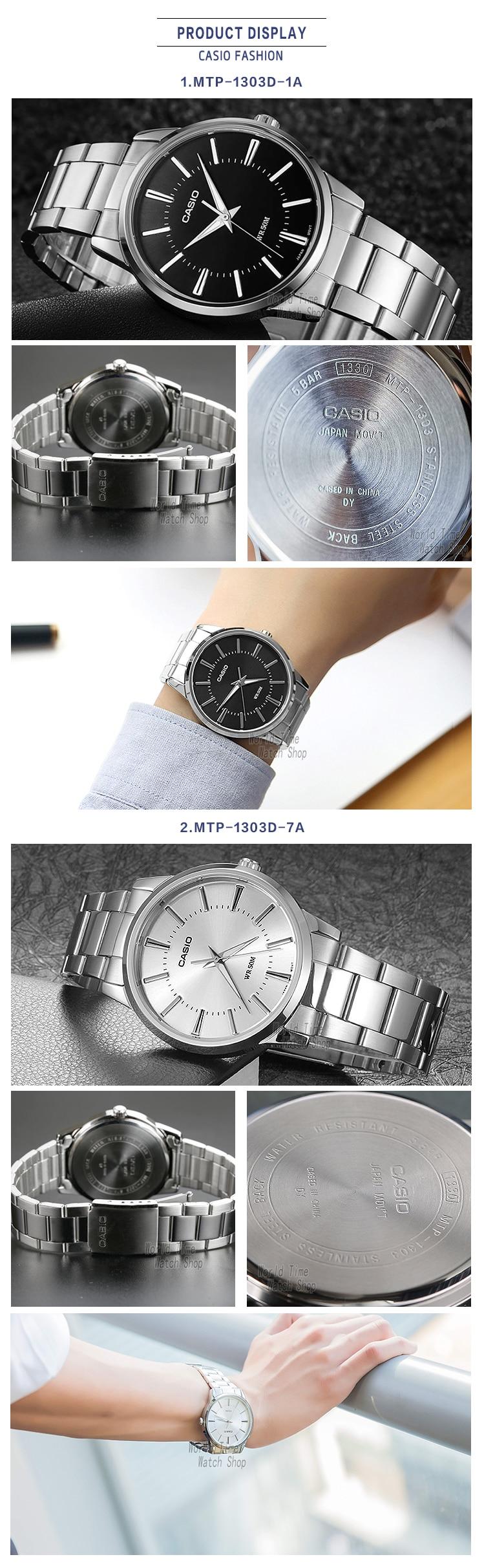 e8a48c33797 Aliexpress.com  Compre Casio relógio Analógico de Quartzo dos homens ...