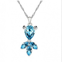 Crystal Goldfish Short Necklace Lovely Lady Clavicle Korean Fashion Jewelry Manufacturers Selling On Behalf Of A