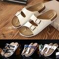 Размер 35-46 Мода Пары Тапочки Вьетнамки Летний Пляж Обувь Женщины Слайды Девушки Квартиры Сандалии Комфорт Повседневная Обувь женский